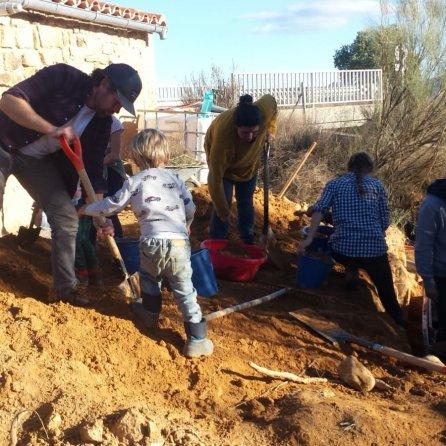 Freedom Farmers Volunteer at El Gozo de Aragón